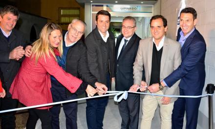 Llamosas inauguró el Nuevo Gimnasio del Centro 11