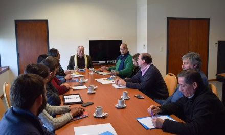 Reunión interministerial por la prevención del consumo de drogas en Río Cuarto