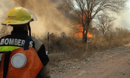 Riesgo muy alto de incendios en toda la provincia
