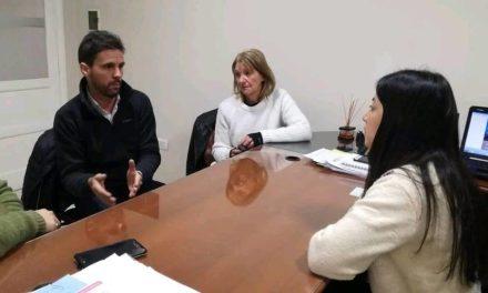 Las Higueras: reunión por la cesión de una plaza al Banco Nación