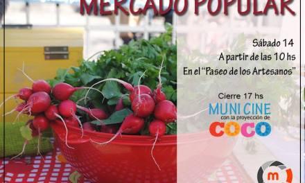 Coronel Moldes: este sábado vuelve el Mercado Popular