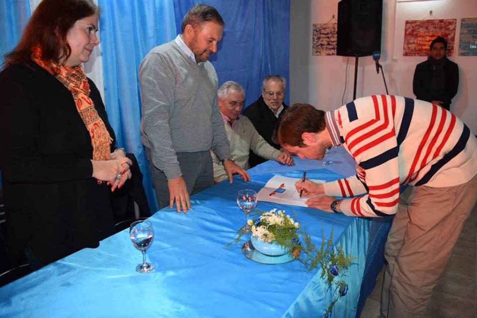 La Municipalidad de Bulnes firmó el Convenio de Plan Córdoba Mayor