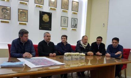 Serrano: reunión sobre obras interprovinciales