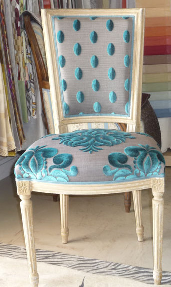 tapisser chaise louis xvi