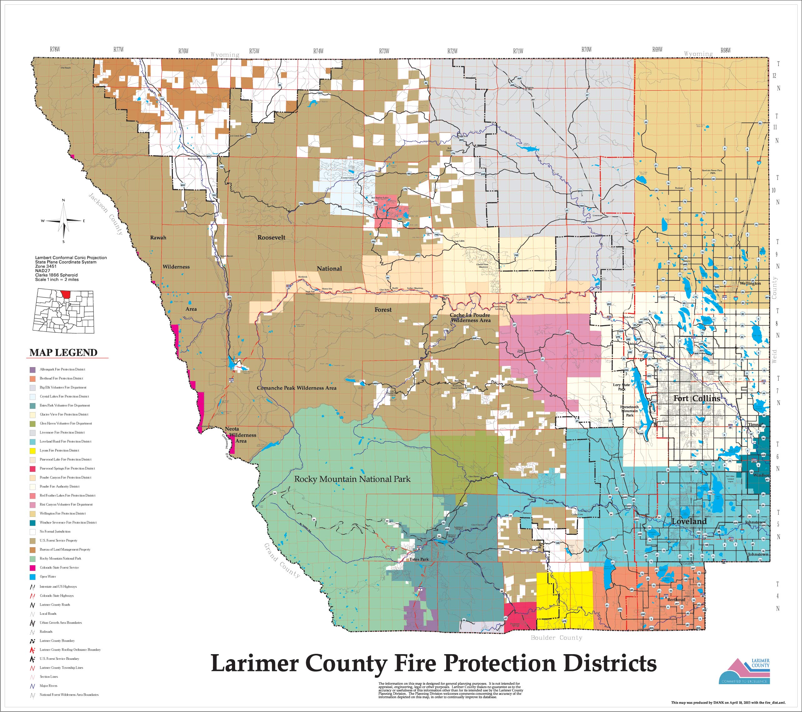 The feature is now live across the u.s. Wildfire Maps Larimer County