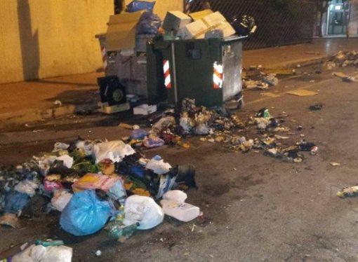 La notte della vergogna. Taranto capitale della monnezza