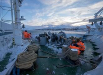 La Marina Militare in missione al Circolo Polare Artico