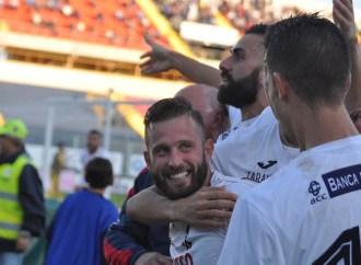 Il Taranto si rimette in marcia, Panarelli fa il bis