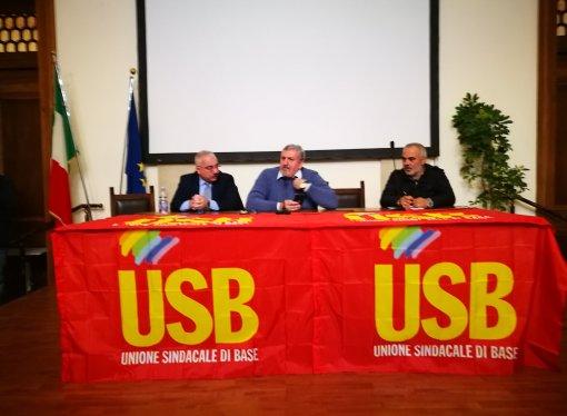 Salute e lavoro, il dramma di Taranto all'assemblea Usb