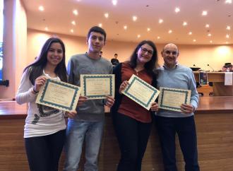 Premio Asimov, premiati quattro studenti del Ferraris