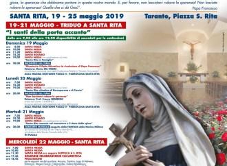 Santa Rita, è festa sino a sabato. Dalla processione alla festa popolare