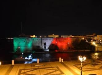 Il Castello Aragonese sarà tricolore