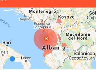 Terremoto, 150 feriti in Albania. Paura in Puglia e a Taranto