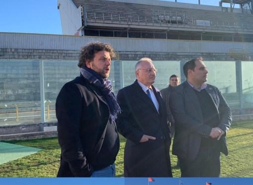 Giochi del Mediterraneo 2026, primo sopralluogo a Taranto