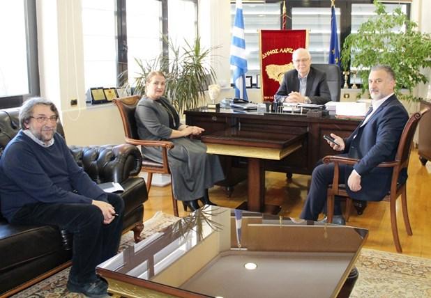 Στην Λάρισα η Γενική Πρόξενος της Αλβανίας στη Θεσσαλονίκη