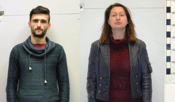 Η 42χρονη και ο 25χρονος που εξέδιδαν μια 14χρονη (Φώτο)