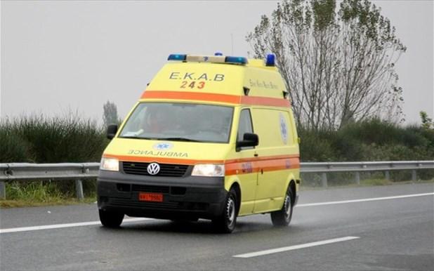Δύο Λαρισαίοι στο νοσοκομείο μετά από τροχαία