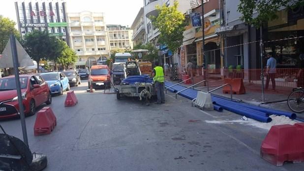 Μέχρι τέλη Ιουλίου κλειστή η οδός Μανδηλαρά λόγω έργων