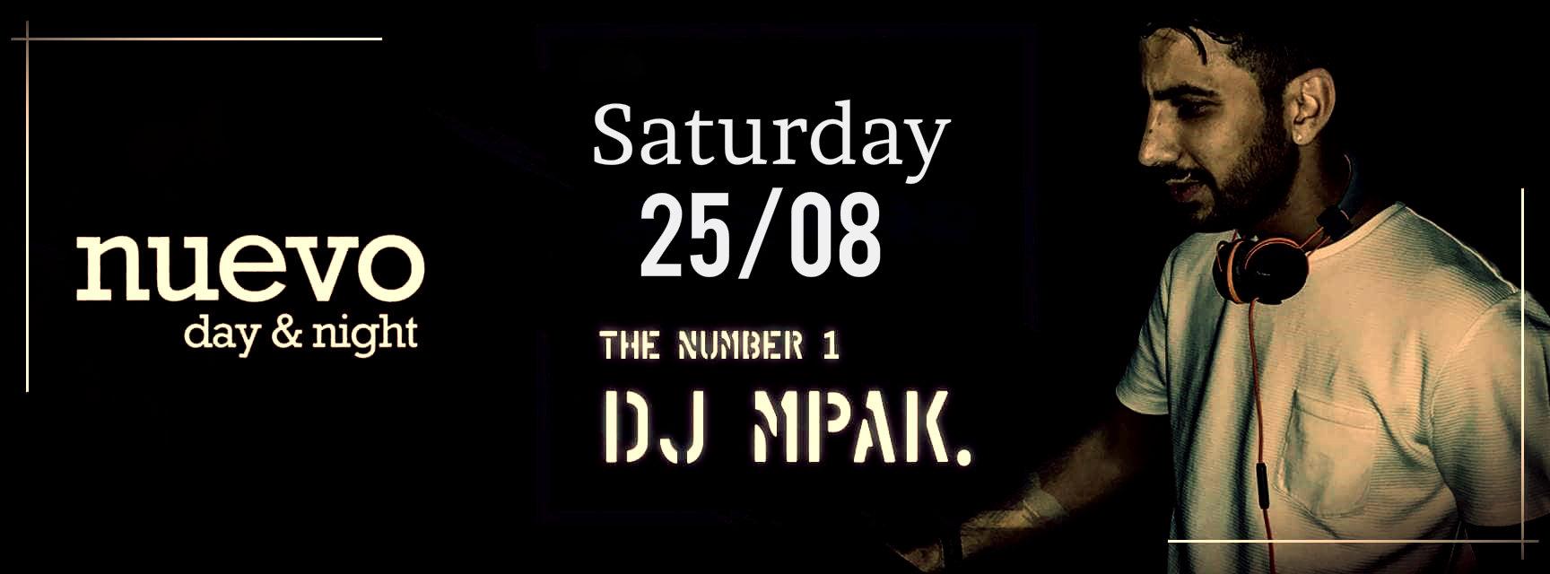 Σαββατιάτικο Summer Party με Dj MPAK στο Nuevo Day & Night στους Γόννους Λάρισας
