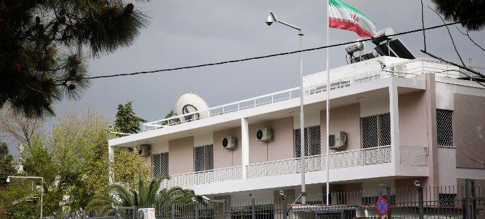 Καταδρομική επίθεση του Ρουβίκωνα στην πρεσβεία του Ιράν
