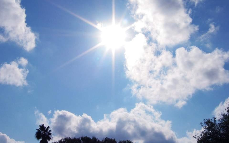 Δείτε την πρόγνωση του καιρόυ για σήμερα στη Λάρισα