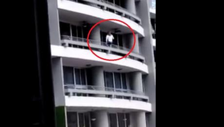 Έπεσε από τον 27ο όροφο προσπαθώντας να βγάλει σέλφι!