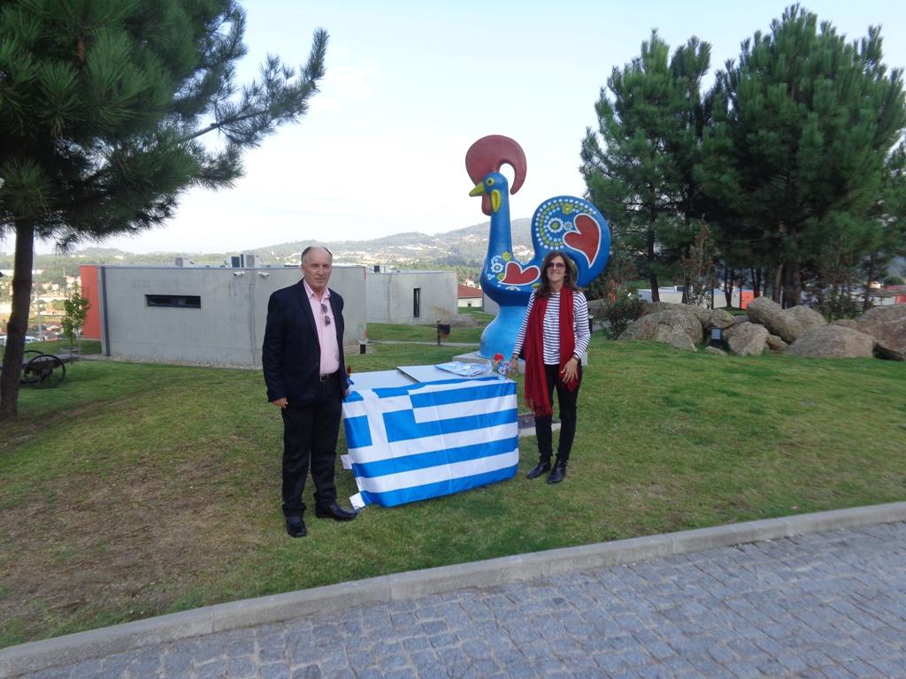 Συμμετοχή της Περιφέρειας Θεσσαλίας στο Ευρωπαϊκό Πρόγραμμα ERASMUS + - Τέταρτη ροή κινητικότητας – Μπράγκα 13-20 Οκτωβρίου 2018