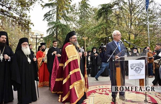 Στο δημαρχείο σήμερα Δευτέρα το πρωί ο Μητροπολίτης Λαρίσης και Τυρνάβου