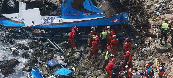 Τραγωδία : 7 νεκρά παιδιά από πτώση λεωφορείου σε χαράδρα -Μέλη ποδοσφαιρικής ομάδας