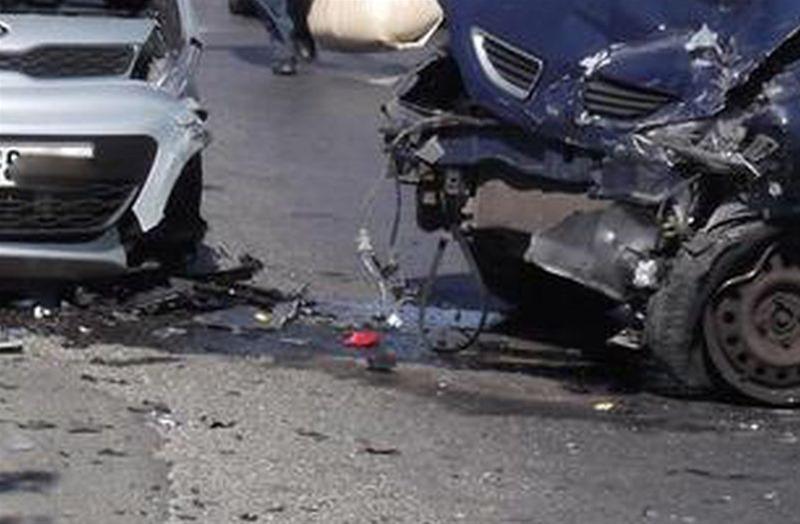 Σύγκρουση αυτοκινήτων στη Λάρισα το πρωί της Δευτέρας