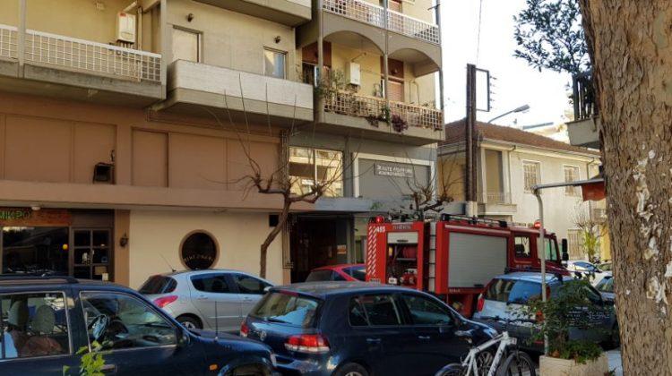 Έκρηξη σε διαμέρισμα στα Τρίκαλα  (φωτό)