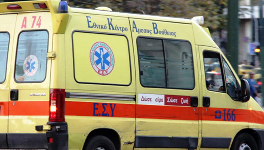 Στο Πανεπιστημιακό νοσοκομείο μια γυναίκα μετά απο παράσυρση στη Λάρισα
