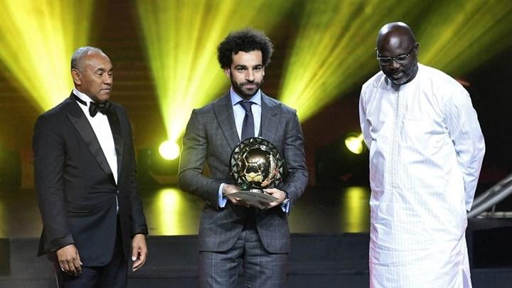 Ο Σαλάχ αναδείχθηκε ως ο καλύτερος Αφρικανός ποδοσφαιριστής της χρονιάς - Ο χορός του