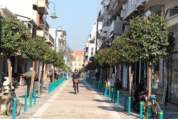 Σε πλήρη εξέλιξη το ΣΒΑΚ στη Λάρισα -Στόχος η μείωση της κυκλοφορίας ΙΧ στο κέντρο