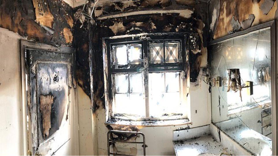 Παρανάλωμα πυρός το διαμέρισμα της Τζόαν Κόλινς στο Λονδίνο - Κινδύνεψε η ηθοποιός