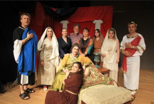 Τρεις τελευταίες παραστάσεις «Στη Ρώμη των διωγμών» (η Φαβιόλα) από τη θεατρική ομάδα του Αγίου Αχιλλίου