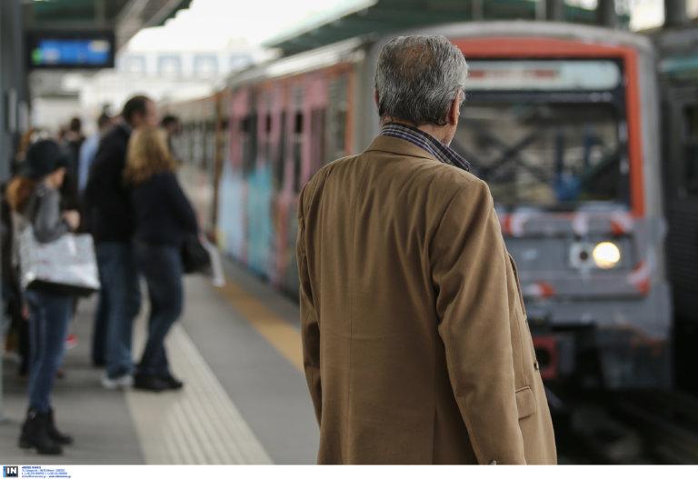 Γυναίκα έπεσε στις γραμμές του τρένου