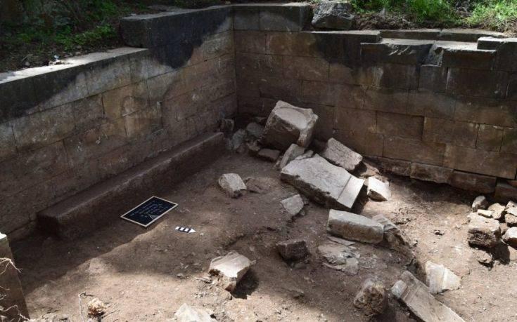 Ιερό της θεάς Νέμεσις ανακαλύφθηκε στο αρχαίο θέατρο της Μυτιλήνης