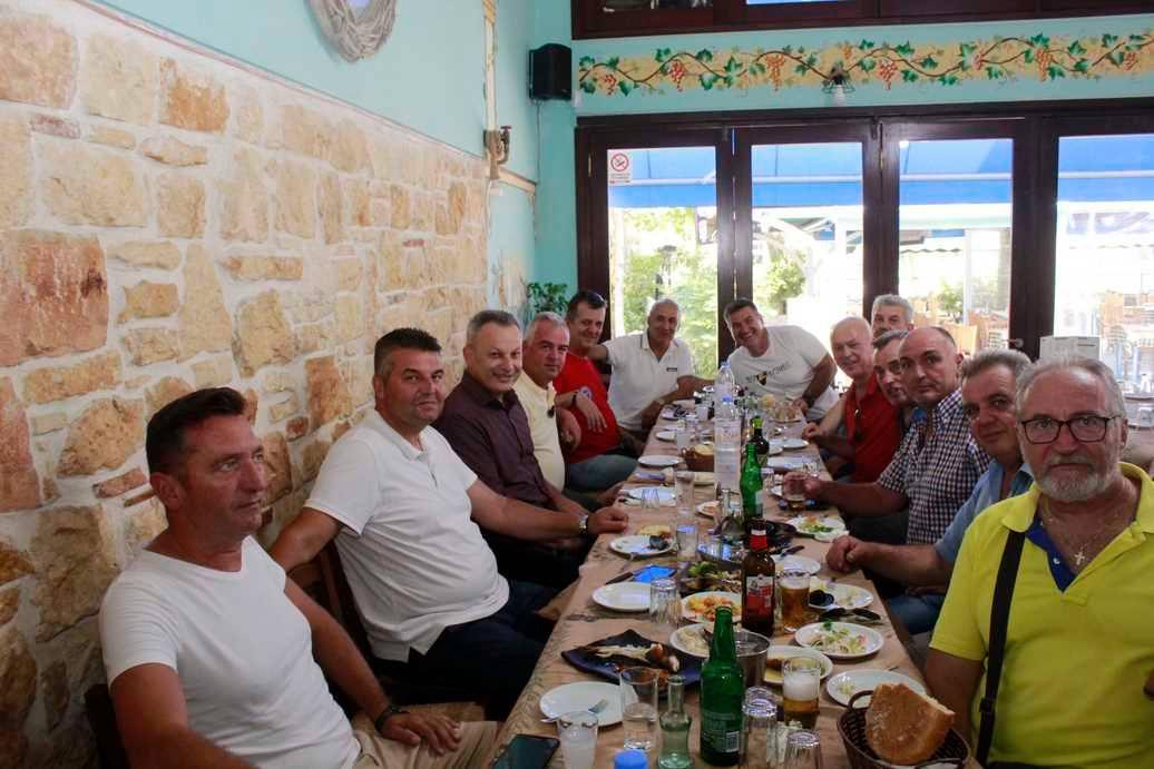 Αποχαιρετιστήριο γεύμα για τον Αντιστράτηγο Βασίλη Καραπιπέρη - ΦΩΤΟ