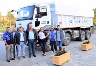 Δήμος Κιλελέρ: Αναβάθμιση μηχανολογικού εξοπλισμού με νέο φορτηγό - Εκδρομή ΚΑΠΗ Νίκαιας