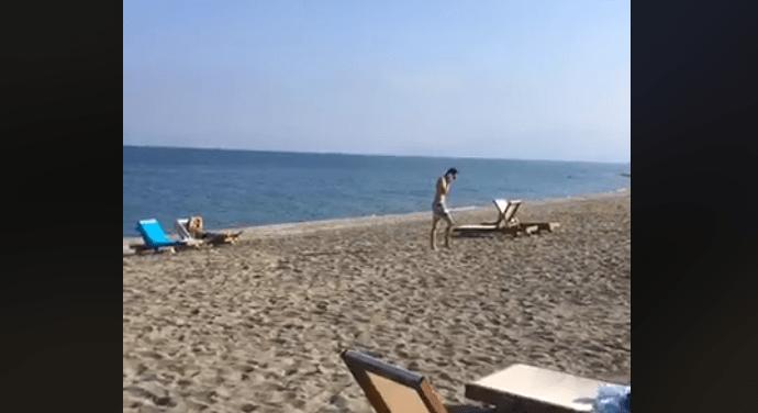 Θάλασσα – πισίνα απόλαυσαν γνωστοί Λαρισαίοι (video)