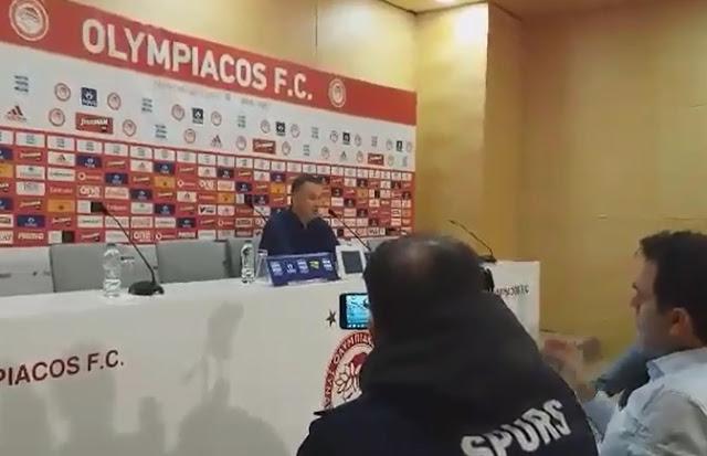 Μιχάλης Γρηγορίου Ολυμπιακός-ΑΕΛ (Video)