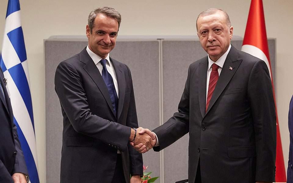 Το Στειτ Ντιπάρτμεντ χαιρετίζει την επικοινωνία Μητσοτάκη - Ερντογάν