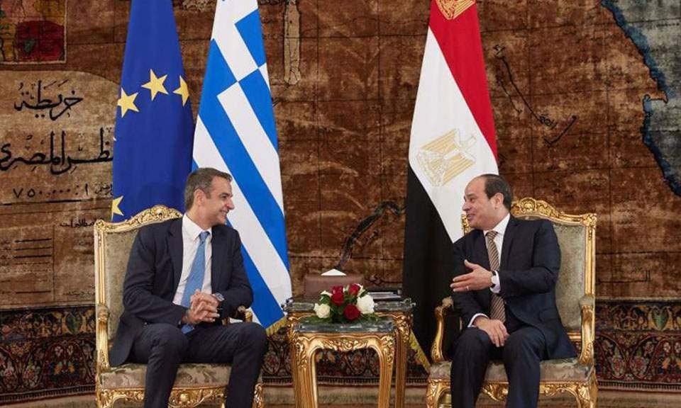 Τηλεφωνική επικοινωνία Μητσοτάκη - Σίσι για Ανατολική Μεσόγειο και Λιβύη