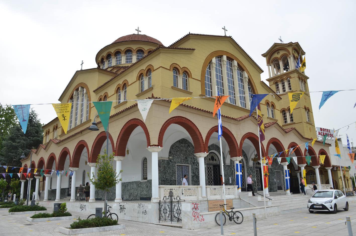 Αγρυπνία στον Άγιο Αχίλλιο για την εορτή Αγίας Αναστασίας Ρωμαίας