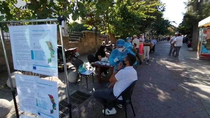 Κορονοϊός: Rapid test σε πολίτες στη Λάρισα - Πόσα κρούσματα εντοπίστηκαν