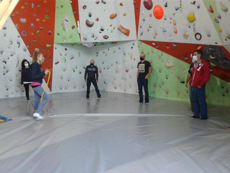 Στην Κατερίνη ολοκλήρωσαν την εκπαίδευσή τους προπονητές της 1ης Σχολής Προπονητών Αγωνιστικής Αναρρίχησης της ΓΓΑ