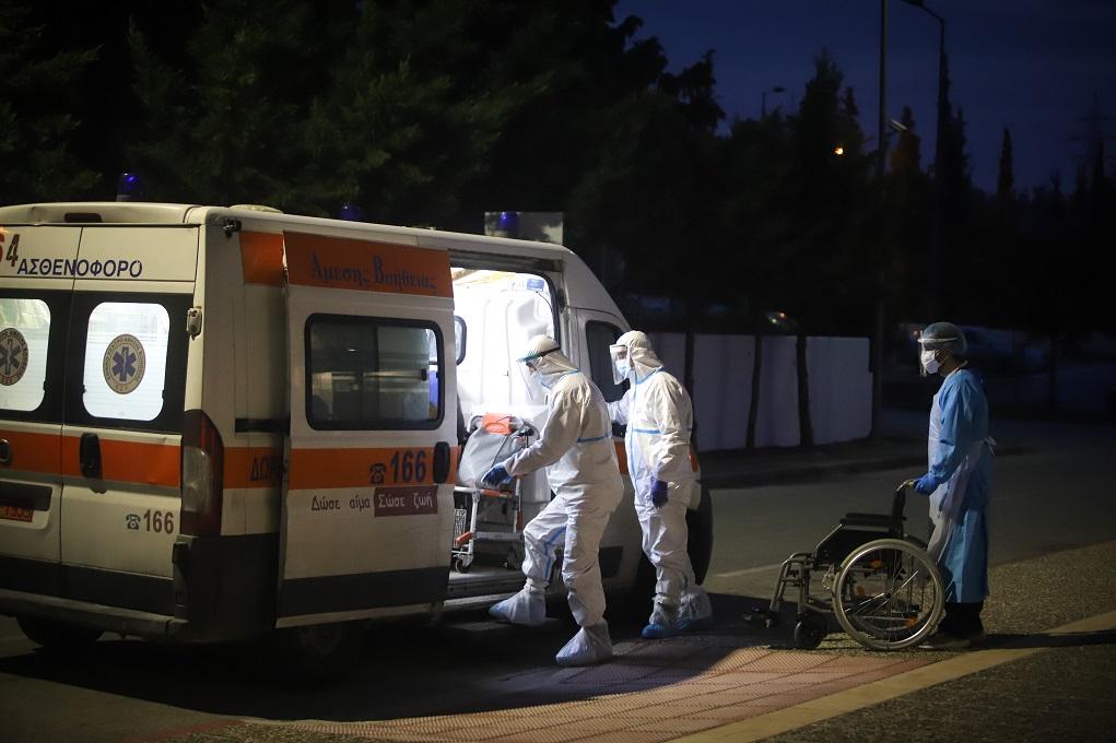 Κορονοϊός: Συναγερμός για τον αριθμό θανάτων – Μειωμένα κρούσματα, αυξημένες διασωληνώσεις
