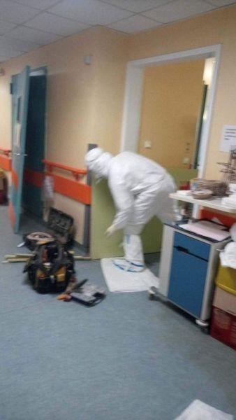 ΠΟΕΔΗΝ: Σε οριακή κατάσταση το νοσοκομείο στη Λάρισα – Φτιάχνουν αυτοσχέδιες ΜΕΘ