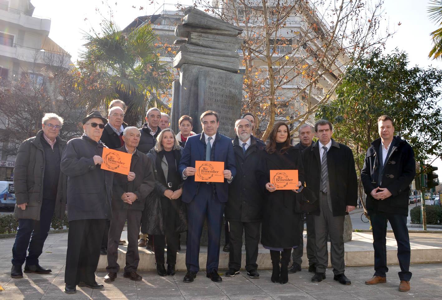 Σχοινάς: Απόλυτη καταδίκη της βεβήλωσης των ιερών εβραϊκών χώρων στη Λάρισα